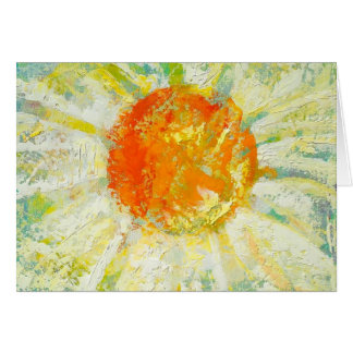 """""""Summer Wild Daisy"""" by Chris Rice Note Cards"""