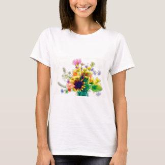 Summer Wildflower Bouquet T-Shirt