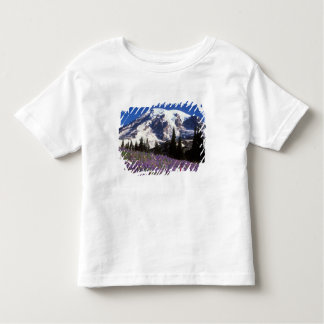 summer wildflowers at the base of Mount Rainier, 2 Toddler T-Shirt