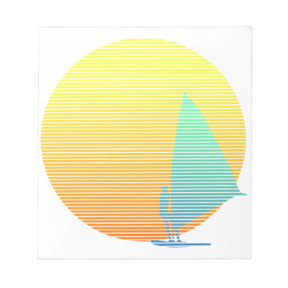 Summer Windsurfer Notepad