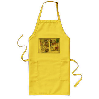 Summer & Winter Wildlife Long Apron