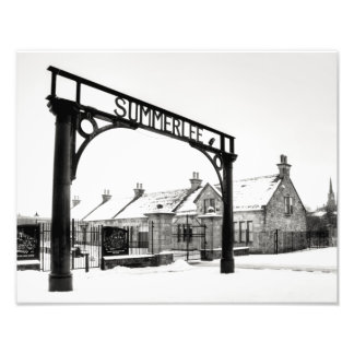 Summerlee in the Snow Photo Print
