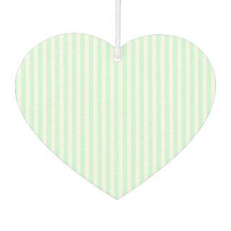 SummerMint Pale Green Mint & White Stripe