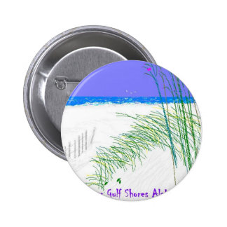 Summers at Gulf Shores 6 Cm Round Badge
