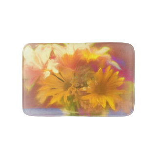 Summer's Bouquet Medium Bath Mat Bath Mats