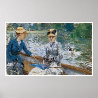 Summer's Day, 1879 Berthe Morisot Poster
