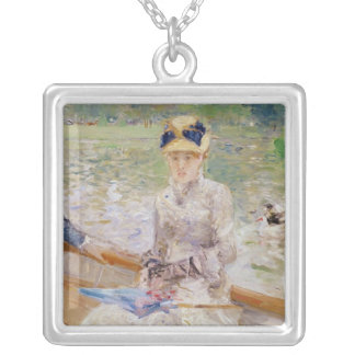 Summer's Day, 1879 Silver Plated Necklace