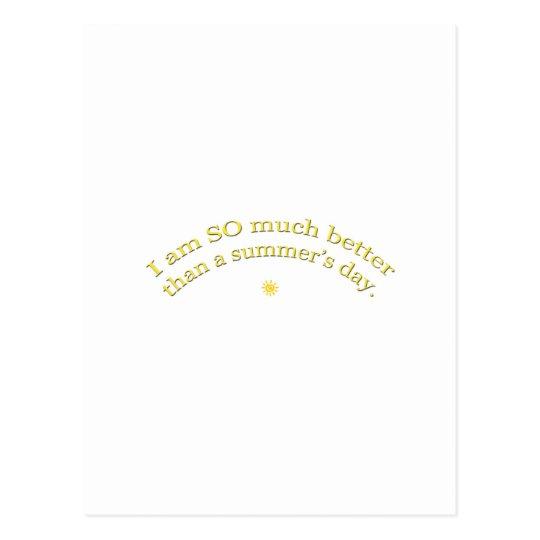 Summer's Day Postcard