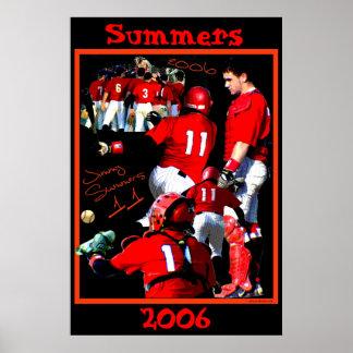 Summers Freshman Baseball Poster