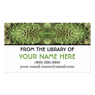 Summer's Hum Personalized Media Card Business Card Templates