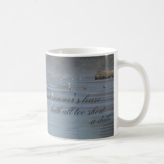 """Summer's Lease Hath All Too Short A Date"" Mug"