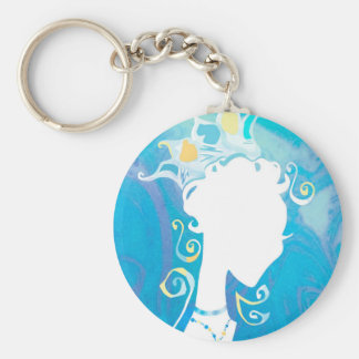 Summer's Phantom Blue Key Ring