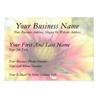 Summer's Star - The Blanket Flower Pack Of Chubby Business Cards