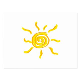 Summersgarden Sunshine Orange and Yellow - Postcard