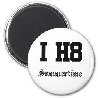 summertime 6 cm round magnet