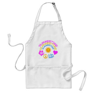Summertime apron - choose style