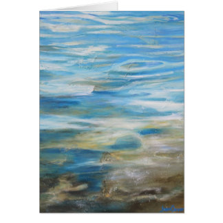 """""""Summertime Blues"""" - Greeting Card"""