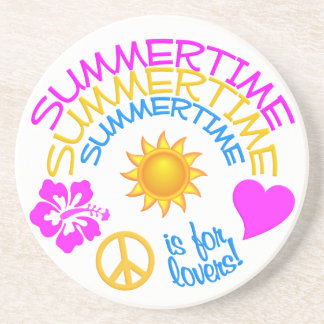 Summertime coaster
