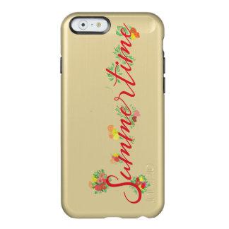 Summertime Floral -  Feather® Shine Golden Case