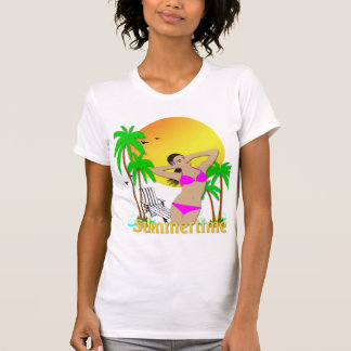 Summertime - Girl T-Shirt