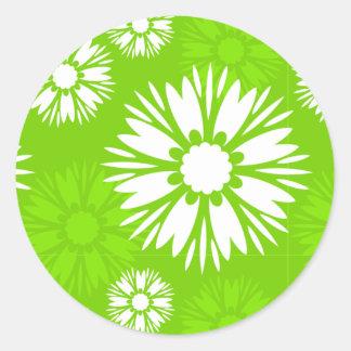 Summertime Green Sticker