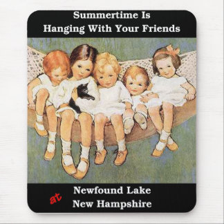 Summertime is Hanging With Your Friends Mousepad