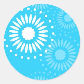 Summertime Light Blue Sticker