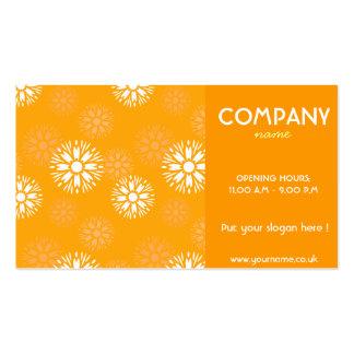 Summertime Orange Business Card
