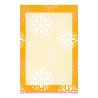Summertime Orange Stationery