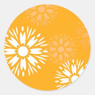 Summertime Orange Sticker