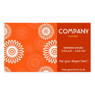 Summertime Red Business Card
