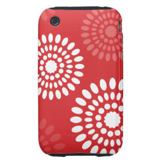 Summertime red flowers iPhone 3G Case