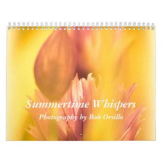 Summertime Whispers Calendars