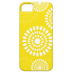 Summertime yellow flowers iPhone 5 Case