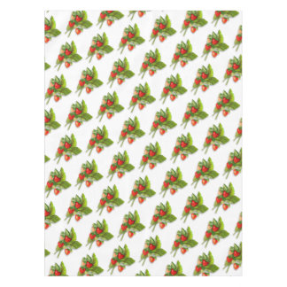 Summery Strawberries Tablecloth