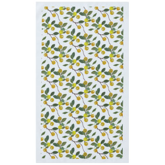 Summery Table Cloth Philippine Golden Lime Citrus Tablecloth