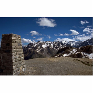 Summit, Alps National Park, France Standing Photo Sculpture