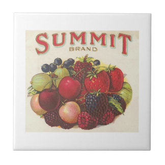Summit Brand Fruits Small Square Tile