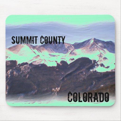 Summit County Colorado mousepad