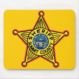 Summit County  Ohio Sheriff Mousepad. Mouse Mat