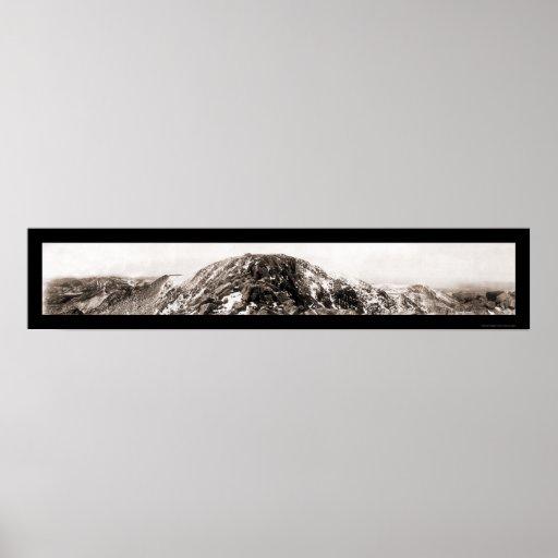 Summit Pikes Peak Photo 1919 Poster