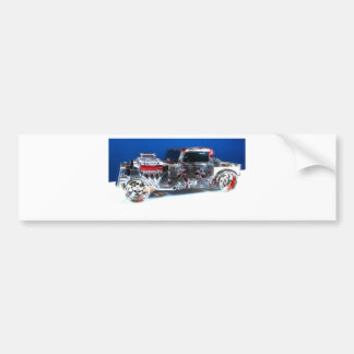 Summit Rat Rod Bumper Sticker