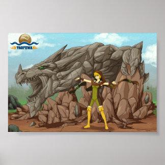 Summon Dragon: Stone - TAOFEWA Manga / Anime poste Poster
