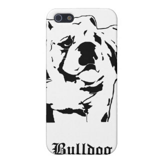 Sumo Bulldog Stencil Case For iPhone 5