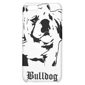 Sumo Bulldog Stencil iPhone 5C Case