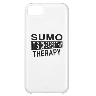 SUMO IT IS CHEAPER THAN THERAPY iPhone 5C CASE