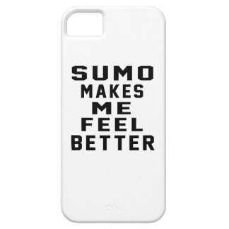 Sumo Makes Me Feel Better iPhone 5/5S Cases