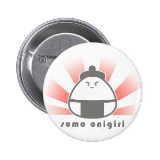 Sumo Onigiri 6 Cm Round Badge