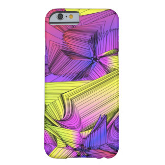 Sumo Purple and Yellow Stars Barely There iPhone 6 Case