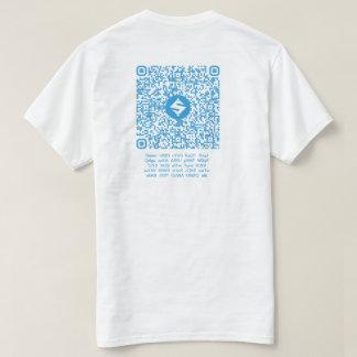SUMO QR-Clothes, Back QR-Code/Text, Front 4:4 T-Shirt